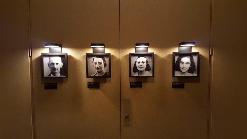Anne Frank Haus die Untergetauchten