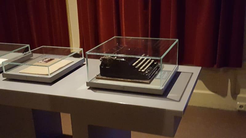Anne Frank Schreibmaschine
