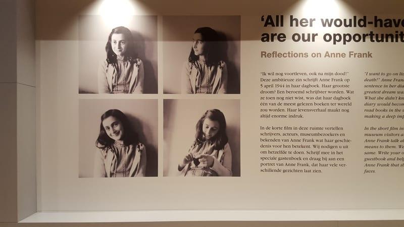 Reflexionen Uber Anne Frank