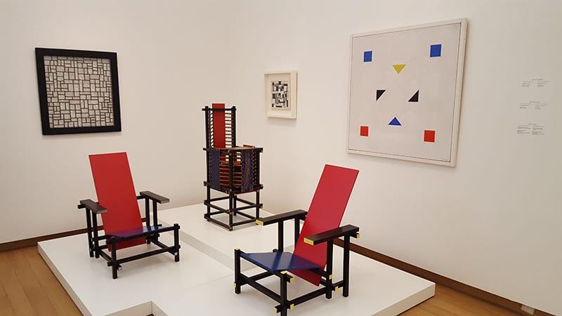 Stedelijk Museum Rietveld Stühle