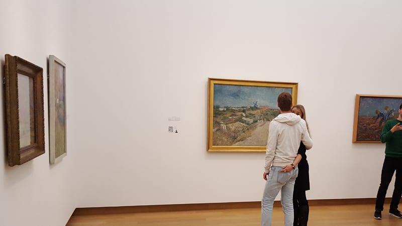 Amsterdam Stedelijk Malerei van Gogh