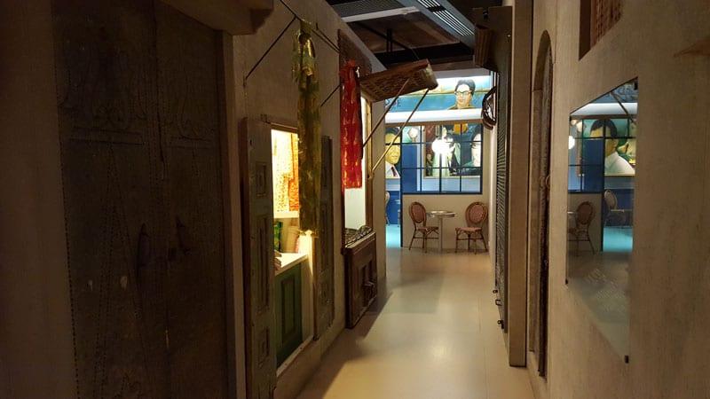 Orientaler Basar im Tropenmuseum