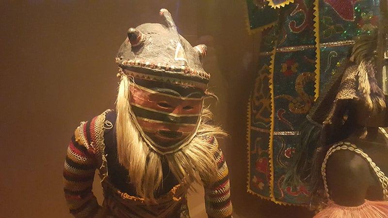 Afrikanische Statur Tropenmuseum