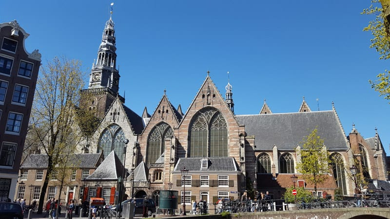 oude kerk in amsterdam. Black Bedroom Furniture Sets. Home Design Ideas