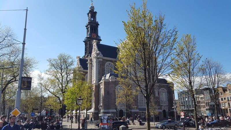 Wester Kirche Amsterdam