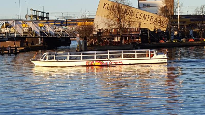 Grachtenfahrt Amsterdam