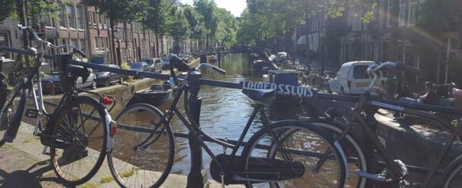 Radfahren Amsterdam