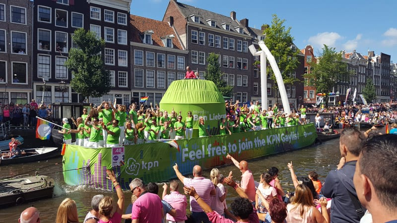 amsterdam gay parade