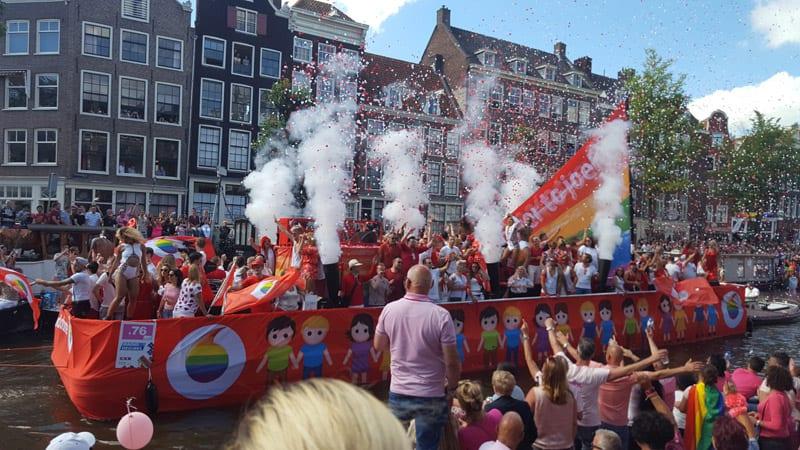 Schwulen festival Amsterdam