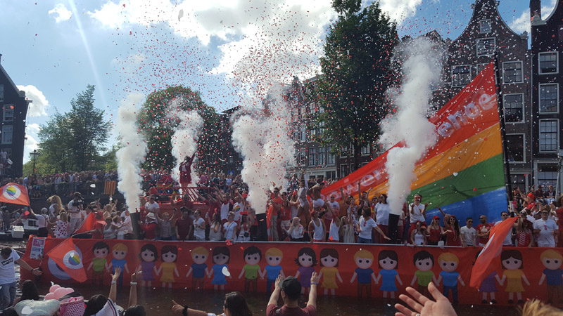 Gay Pride Amsterdam 2016