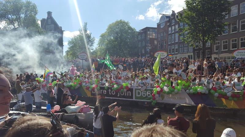 Bootsparade Amsterdam
