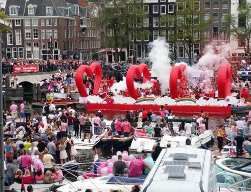 Gay Pride Amsterdam 2017 – Ein Einblick in die Bootsparade