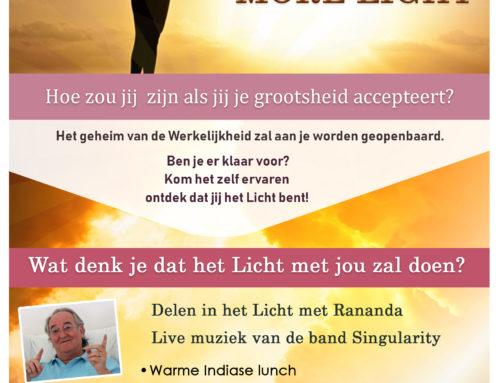 24. März: More Light Festival in Utrecht